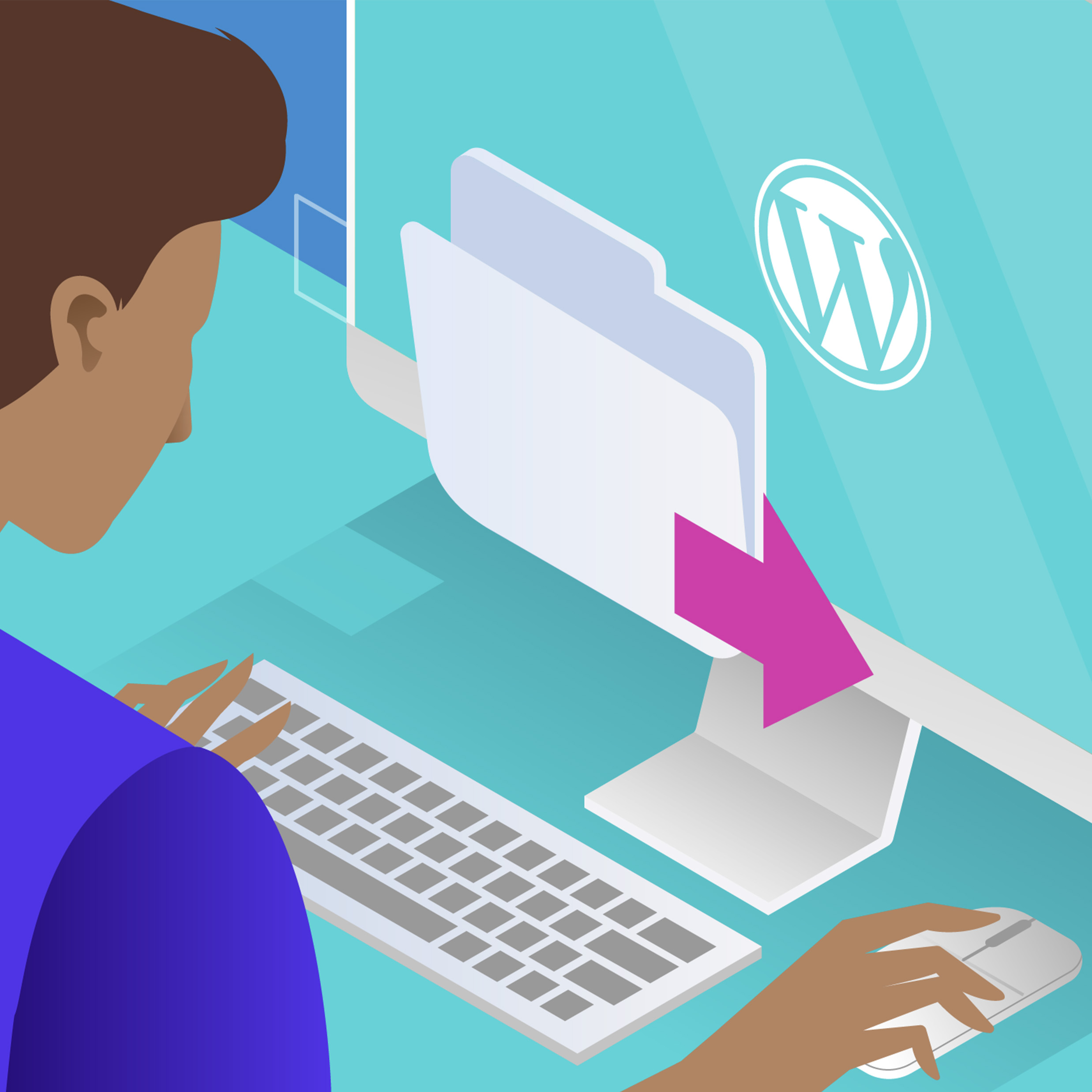 Wordpress Content Exporting Cover