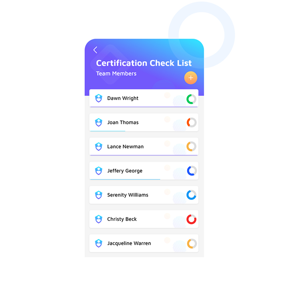 Certification Tracking Cover