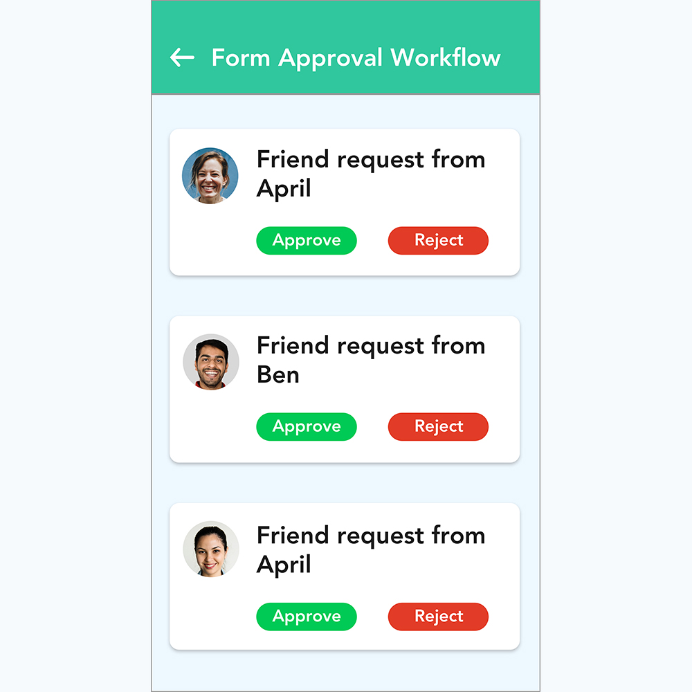 Form Approval Workflow Cover
