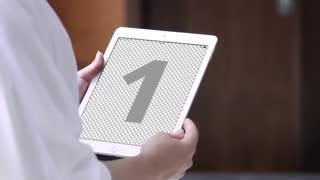 iPad slide